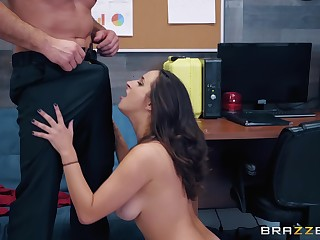 there is no place to what place Ashley Adams, doesn't like to take a hard dick